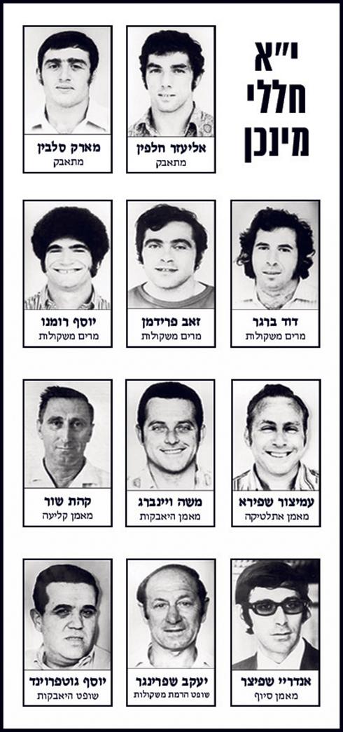 לזכור ולא לשכוח (באדיבות הוועד האולימפי בישראל) (באדיבות הוועד האולימפי בישראל)