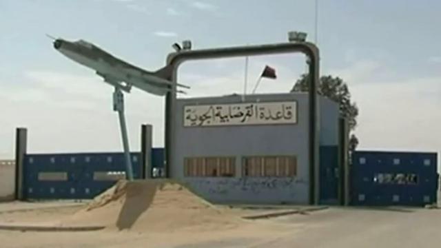 A former Ghaddafi airbase