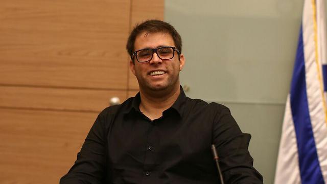 MK Oren Hazan (Photo: Ohad Zwigenberg)