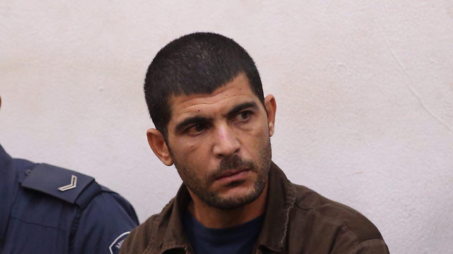 Raed Khalil, who murdered two Israelis in Tel Aviv last month. (Photo: Moti Kimchi)