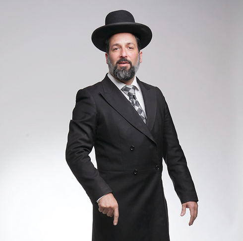 """""""המוהל הראשי של תל אביב־יפו"""". הרב אבי זרקי (צילום: אביגיל עוזי)"""