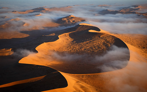 Giant dunes at Sossusvlei in the Namib Desert, Namibia (Photo: Erez Marom)