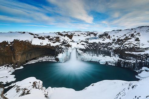 Aldeyjarfoss waterfall, Iceland (Photo: Erez Marom)