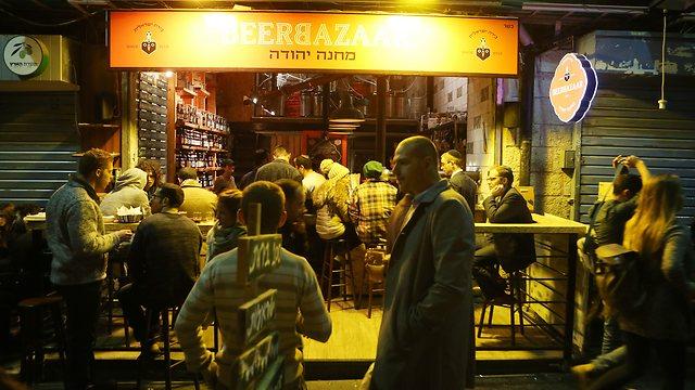 The exterior of the Beer Bazaar (Photo: Alex Kolomoisky)
