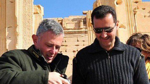 Sleiman Frangieh and Bashar Assad.
