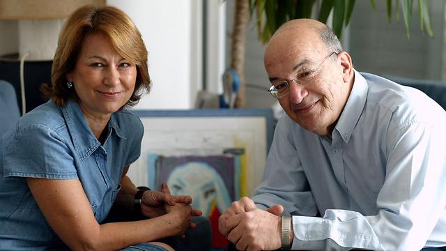 """שריד עם אשתו דורית (צילום: מיכאל קרמר """"ידיעות אחרונות"""") (צילום: מיכאל קרמר"""
