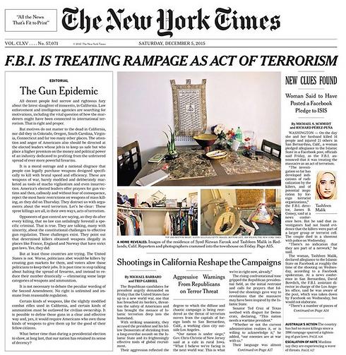"""מאמר המערכת ב""""ניו יורק טיימס"""" ()"""
