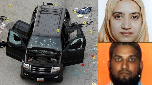 Syed Rizwan Farook and Tashfeen Malik, the San Bernardino attackers