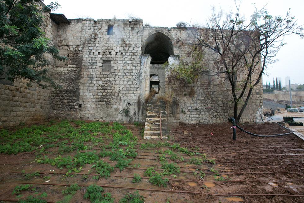 אחד המבנים הישנים ששרד ושהוכרז לשימור. גם השיפוץ יגיע (צילום: דור נבו)