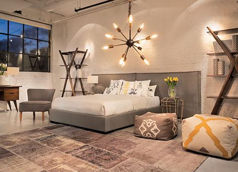 חדר שינה בצבעים חמים לרשת ביתילי (צילום: יוסי צרויה) (צילום: יוסי צרויה)