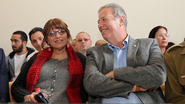 גפסו לאחר החלטת בית המשפט בחיפה. שמחה מוקדמת מדי (צילום: אלעד גרשגורן) (צילום: אלעד גרשגורן)
