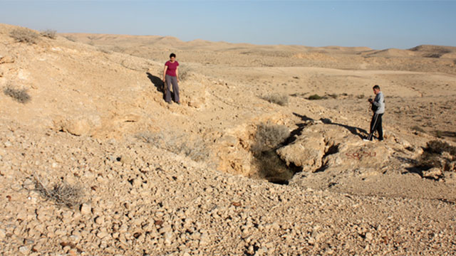 The Ashalim cave in the northern Negev