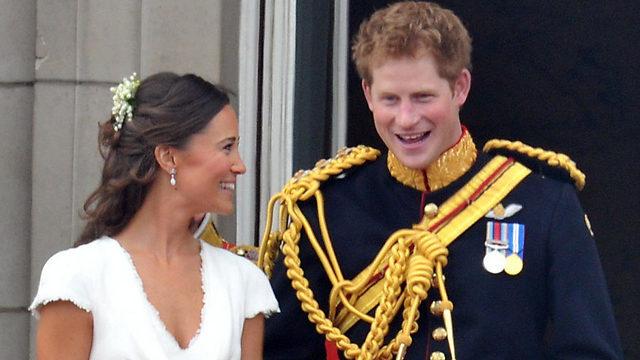"""""""פלרטטו במשך כל החתונה של אחיהם"""". הארי ופיפה מידלטון (צילום:  MCT) (צילום:  MCT)"""