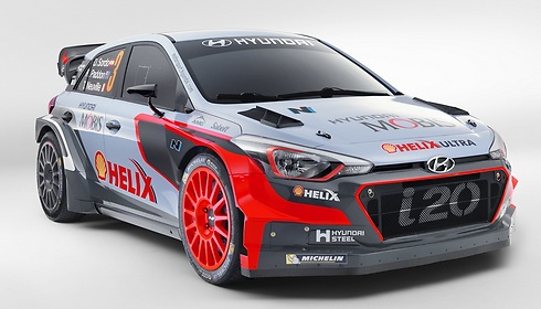 יונדאי WRC i20, למירוצי ראלי ()