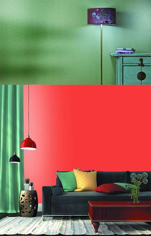 טמבור בצבעים לתאורה נעימה בחורף ()