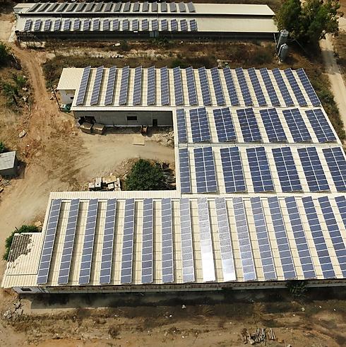 """(צילום: המערכת הותקנה ע""""י חברת נופר אנרגיה) (צילום: המערכת הותקנה ע"""