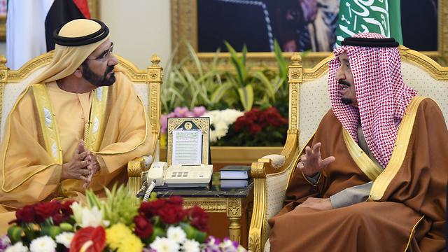 המלך סלמאן (מימין). הרפורמיסט לא השלים את העבודה (צילום: AFP)