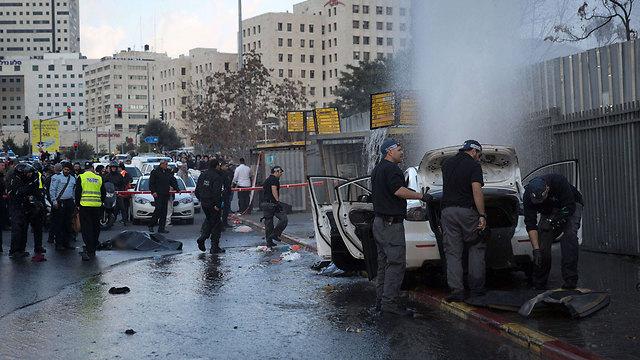 פיגוע דריסה בירושלים. הוקדש לה חלק מיוחד (צילום: AFP) (צילום: AFP)