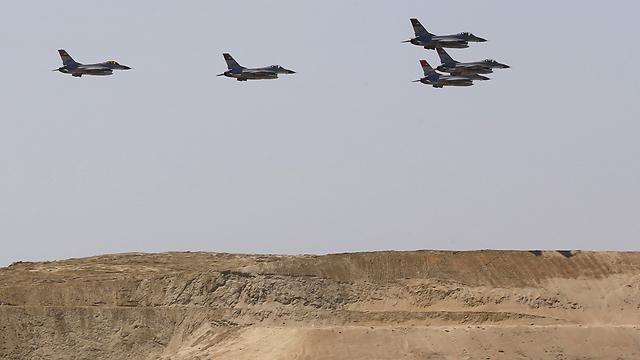 מטוסי קרב של חיל האוויר המצרי. ארכיון  (צילום: רויטרס) (צילום: רויטרס)