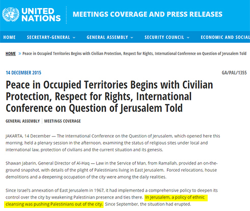 The press release on the UN website.