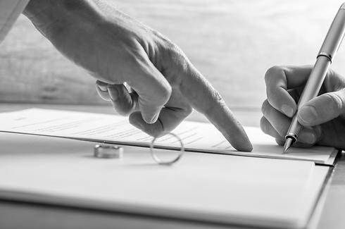הסכם גירושים (צילום: Shutterstock)