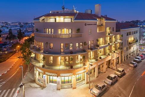 מלון מרגוזה ביפו. השקעה של 12 מיליון שקל