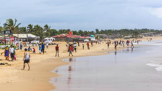 Пляж в Гоа. Фото: shutterstock