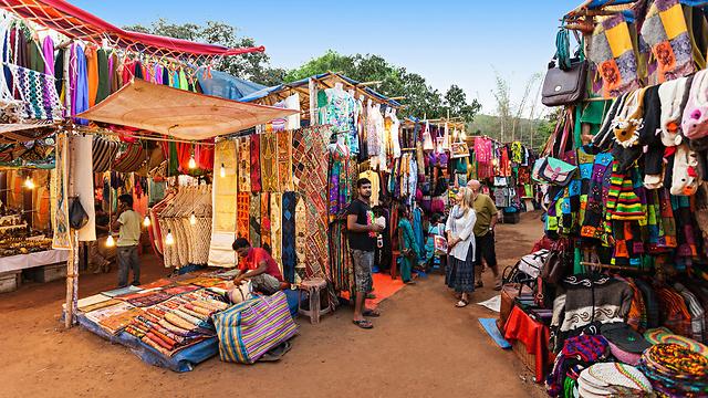 Рынок в Гоа. Фото: shutterstock