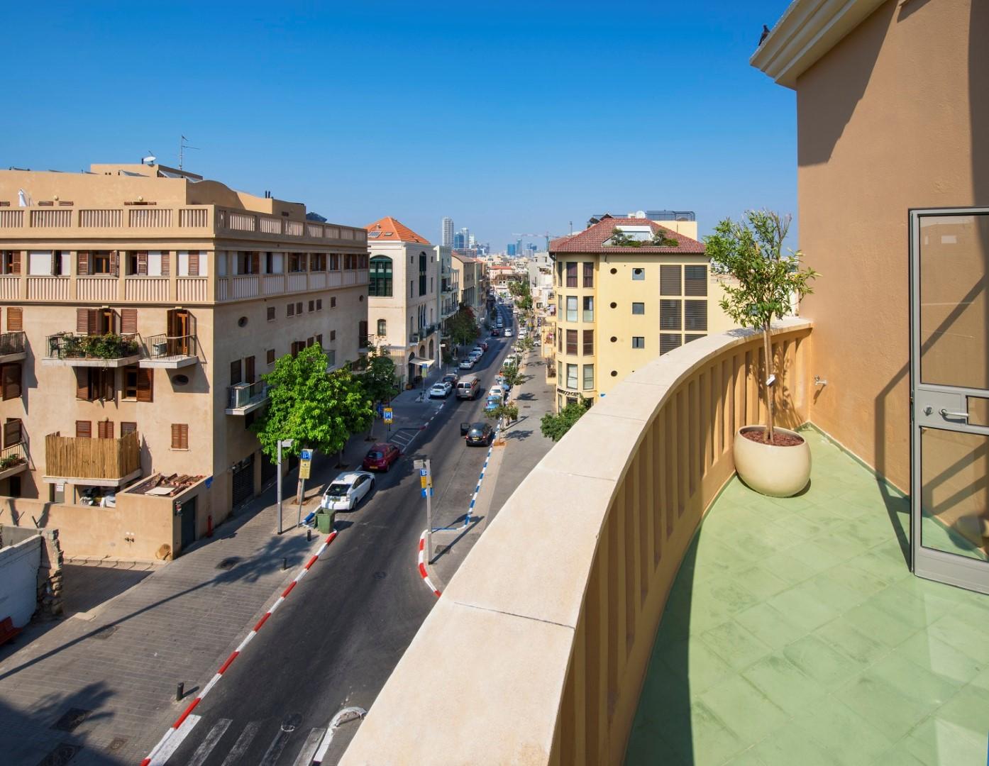 מבט מהמרפסת (צילום: איציק ביונונסקי)
