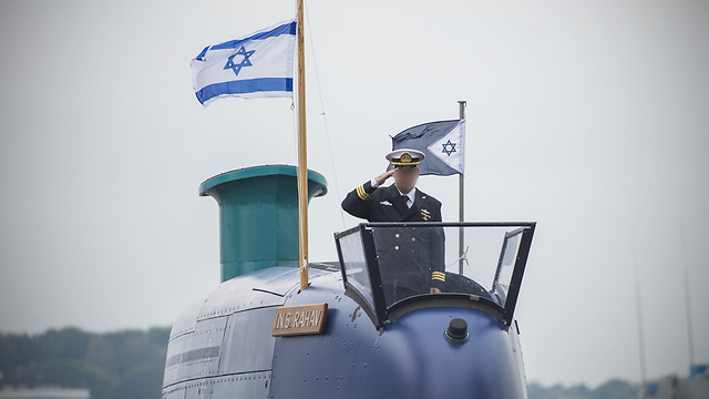 Israeli Submarine (Photo: IDF Spokesperson's Unit)