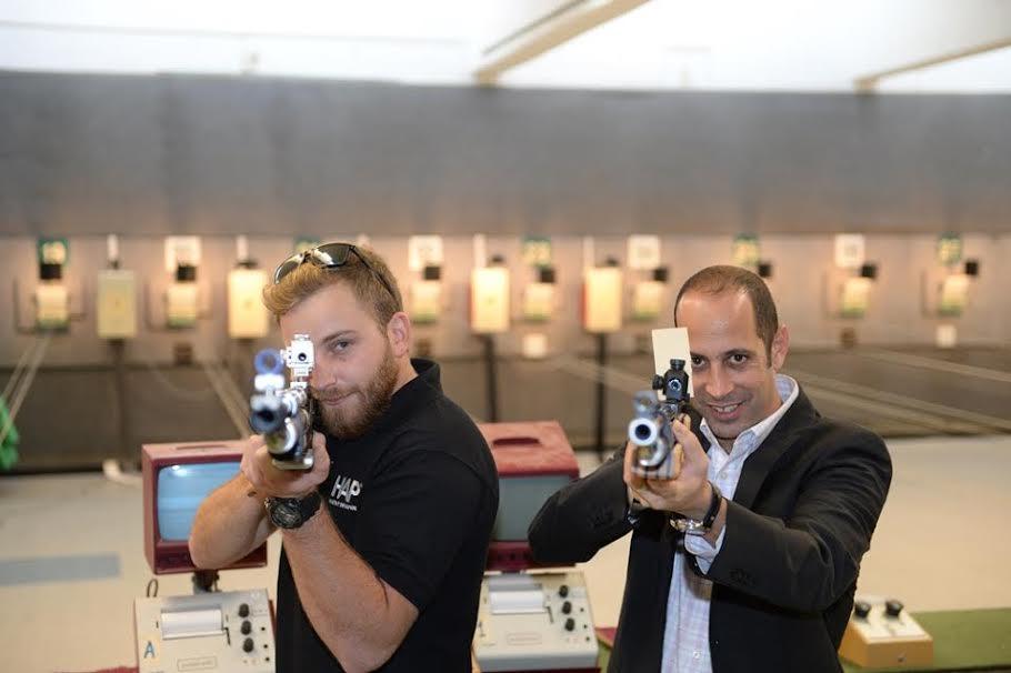 ניר אמזל וסרגיי ריכטר (צילום:  הועד אוולימפי) (צילום:  הועד אוולימפי)