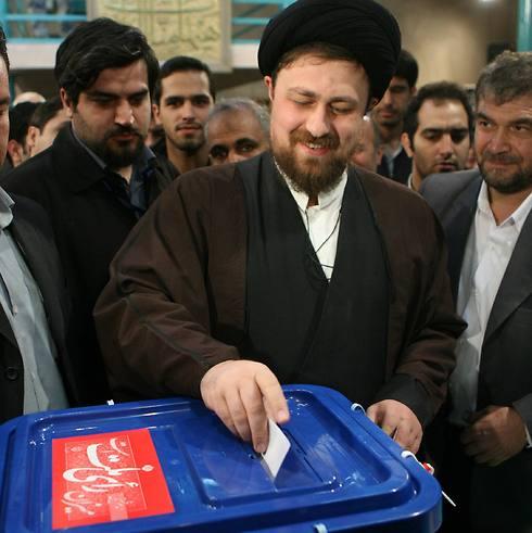 Hassan Khomein, the ayatollah's grandson (Photo: AFP)