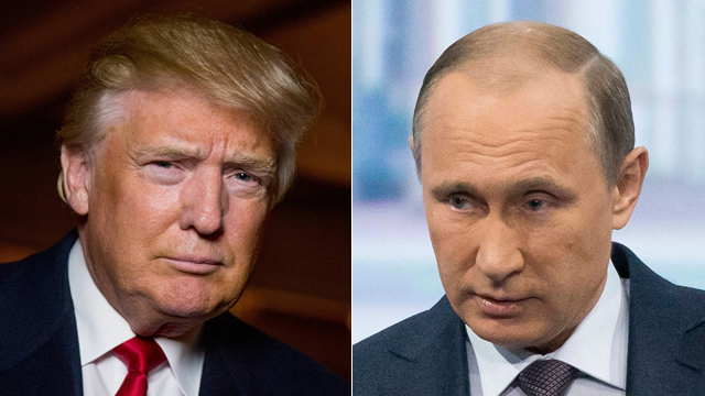 Putin and Trump. A Russian-American compromise in Syria will either reduce Assad's power or destroy him, along with the power of his Iranian patrons (Photo: AP) (Photo: AP)