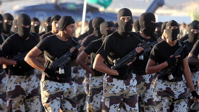 חיילים סעודים (צילום: EPA) (צילום: EPA)
