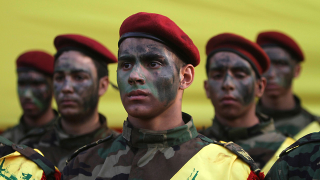 Hezbollah militants in Lebanon (Photo: AP)