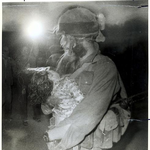 הפיגוע בנהריה, ב-1979 (צילום: צבי רוגר) (צילום: צבי רוגר)
