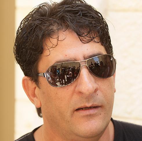 Yoram Shahar, whose brother Eliyahu Shahar was murdered by Kuntar (Photo: Atta Awisat)