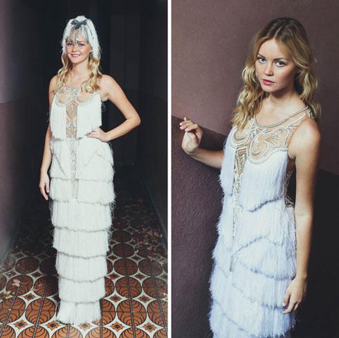שמלת כלה בשבועיים ו-300 מוזמנים? קטן עליה אחרי מיס יוניברס. עיצוב שמלה: יניב פרסי (צילום: אבישג שאר ישוב)