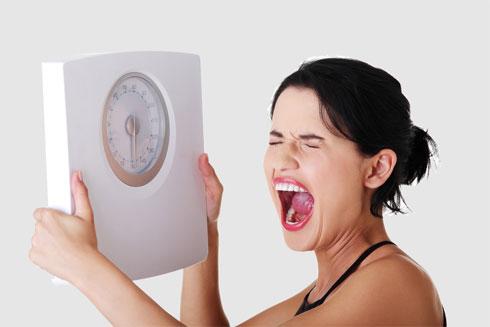 אנשים שמנים שמסת השריר שלהם גבוהה בריאים יותר מאנשים רזים בעלי מסת שריר נמוכה (צילום: shutterstock)