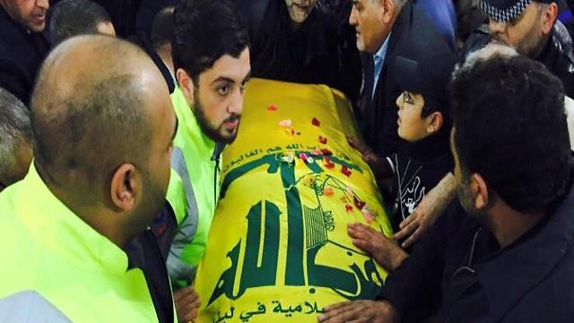 Samir Kuntar's funeral, Monday. The man was not important enough for Hezbollah to launch a new conflict