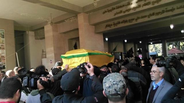 Kuntar's coffin