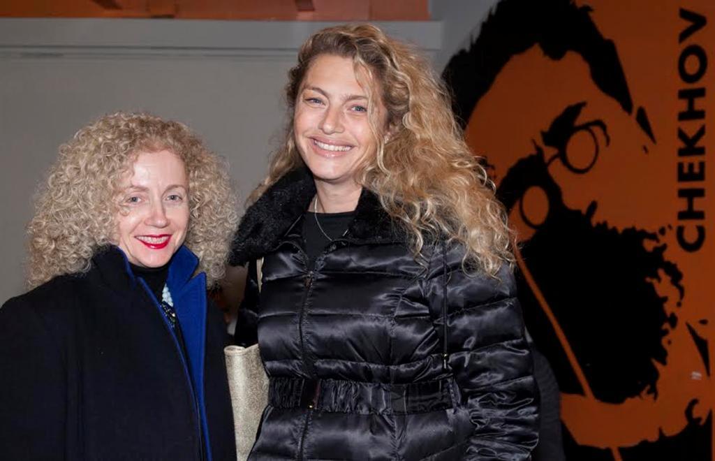 """מיכאלה ברקו ולנה קריינדלין (צילום: יח""""צ) (צילום: יח"""