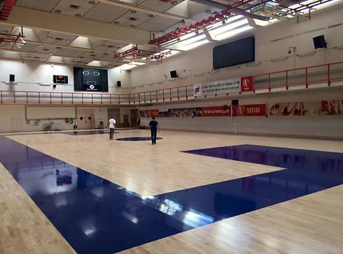 אולם הכדורסל בהדר יוסף (צילום: מרכז הספורט הדר יוסף) (צילום: מרכז הספורט הדר יוסף)