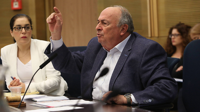 Kulanu MK Eli Alalouf, chairman of the Knesset's Labor, Welfare and Health Committee (Photo: Gil Yohanan)