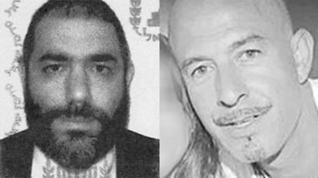 Rabbi Reuven Biermacher, left, and Ofer Ben-Ari, right, killed in the terror attack in Jerusalem.