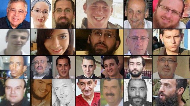 24 Israelis killed in current wave of terrorism.