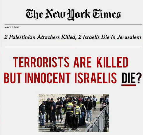 Criticism of the New York Times headline