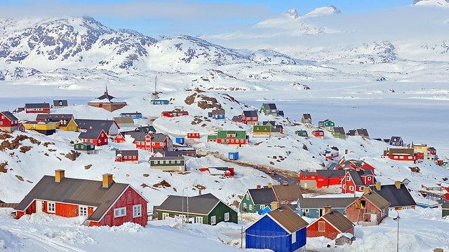 יישוב בגרינלנד (צילום: shutterstock)