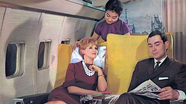 העיתון לא נעלם מתכנית הבידור בטיסה - גם היום ()