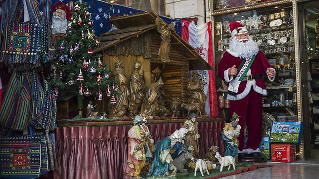 Christmas celebrations in Bethlehem (Photo: GettyImages) (Photo: Getty Images)